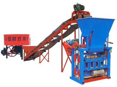 QMJ4-35 small block making machine