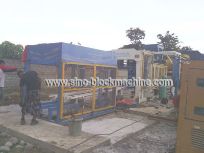 concrete block making machine in Philippine